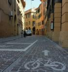 Via Petroni riqualificata