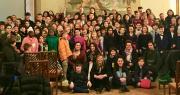 Foto di gruppo studenti e istituzioni progetto Educalè 2018-2019