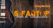 S-FACTOR, locandina concorso musicale per le scuole di Couponlus