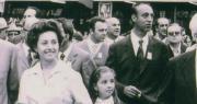 Adriana Lodi con il sindaco Dozza