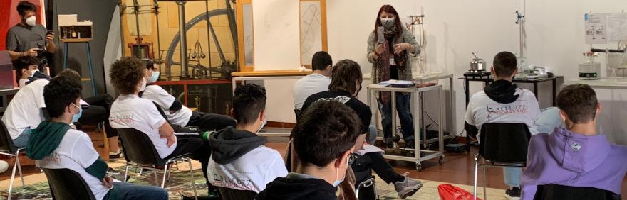 studenti Belluzzi Fioravanti al museo del patrimonio industriale