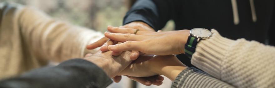 mani unite Insieme per il Lavoro